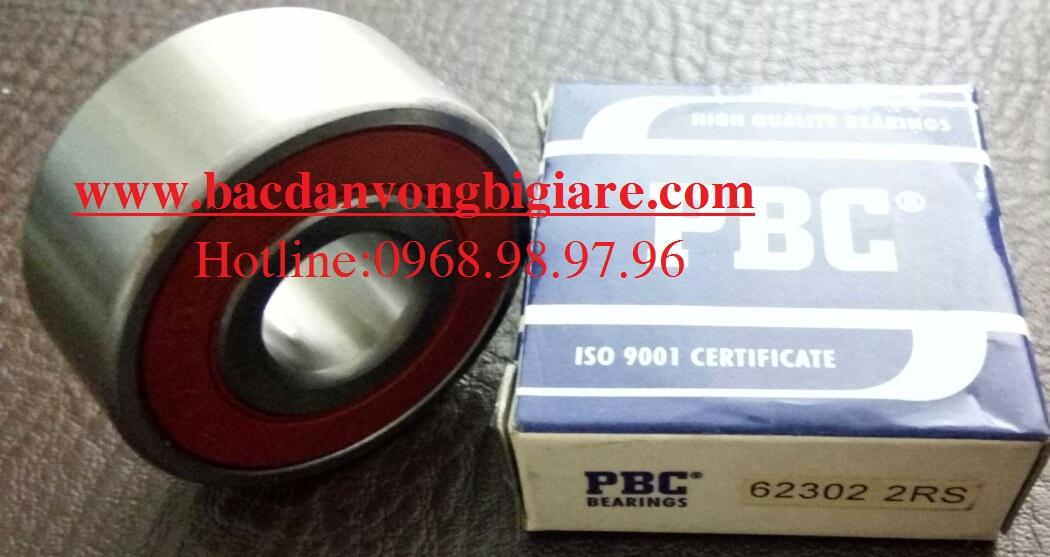 VÒNG BI 62302 RS PBC