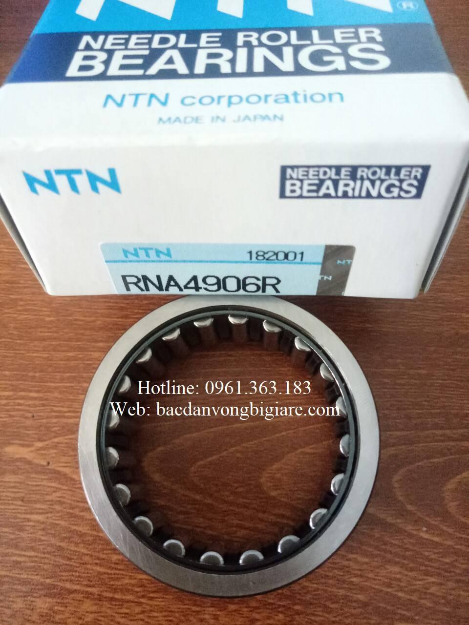 BẠC ĐẠN RNA4906R, VÒNG BI RNA4906R